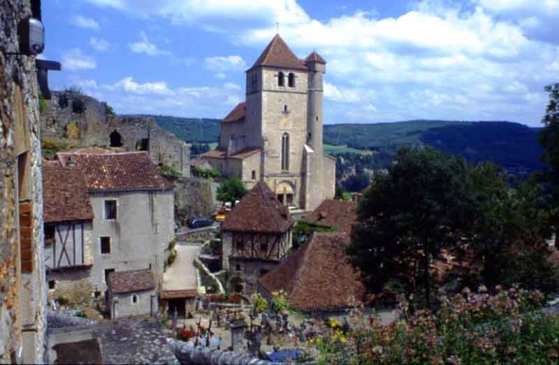 St Cirque Le Popie - said to be France's prettiest village