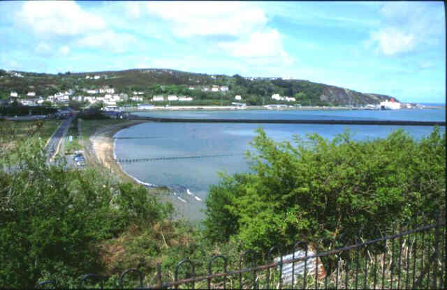 Fishguard Bay departure point for Rosslare