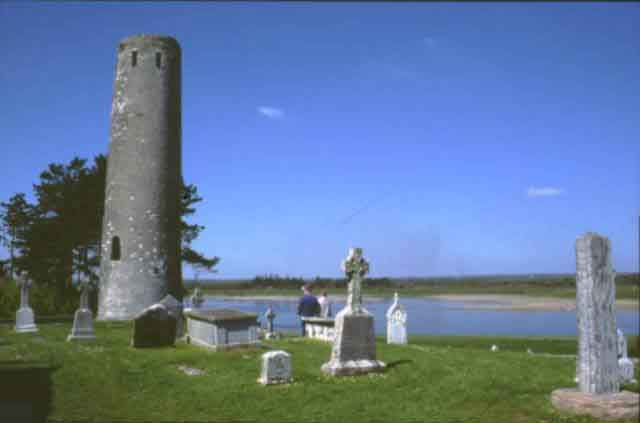 Clonmacnoise on the Shannon