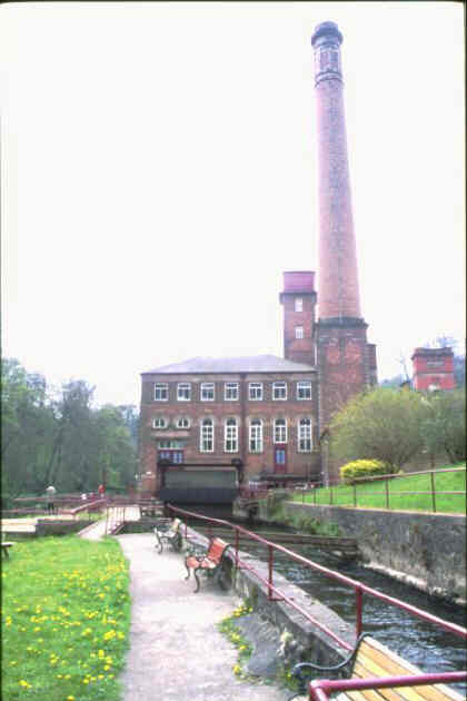 Masson Mill - an Arkwright masterpiece