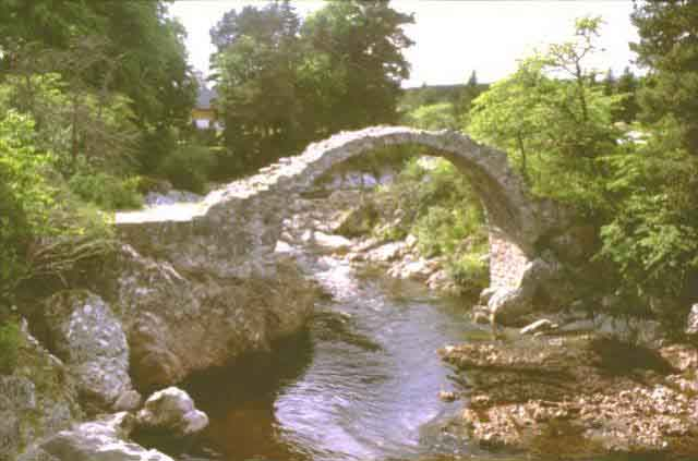 'Pack-horse Bridge' at Carrbridge Cairngorms Fairwinds Hotel highly recommended